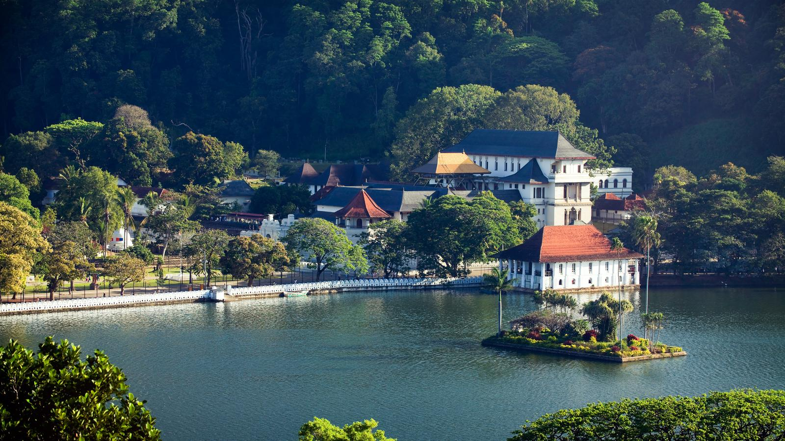 The Beautiful City of Kandy, Sri Lanka